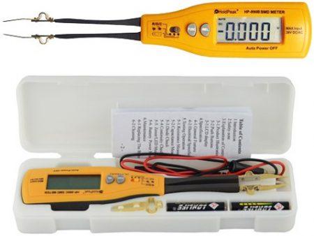 MX-25 404 típ. in-circuit SMD R-C-D mérő
