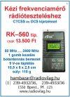 RK-590 Kézi rádióadó teszter