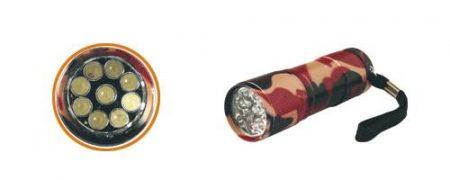Military LED-es zseblámpa
