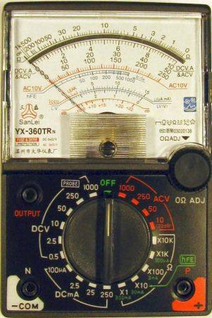 YX–360TRN  Deprez univerzális hidegműszer