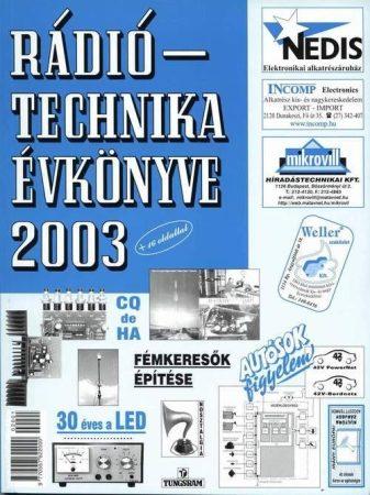 A RÁDIÓTECHNIKA ÉVKÖNYVE 2003
