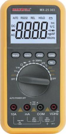MX-25 303 típ. DMM