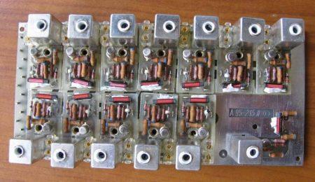 BRG xtal oszcillátor panel