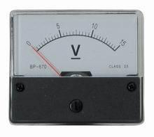15 V DC Deprez-műszer