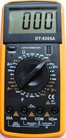 DT-9205A típ. DMM