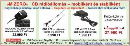 CB rádióállomás