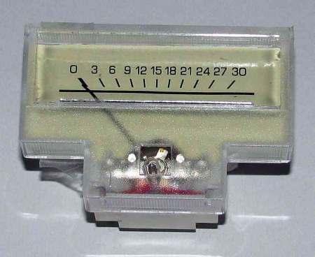 250 mikroA DC Deprez-műszer