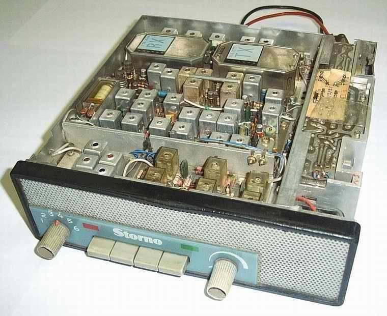 STORNO CQL&8211;612 típ. URH FM adó-vevő