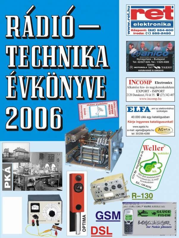 A RÁDIÓTECHNIKA ÉVKÖNYVE 2006